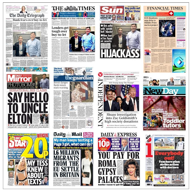 front pages 30-03-16