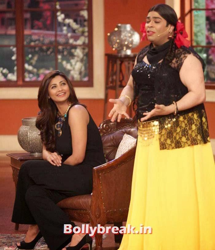 Daisy Shah, Kiku Sharda, Salman Khan & Daisy Shah on Comedy Nights with Kapil