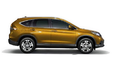 2017 honda crv side view photo