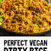 Perfect Vegan Dirty Rice #vegan #friedrice