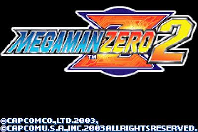 【GBA】洛克人Zero2代中文版+金手指,卡普空懷舊動作遊戲!