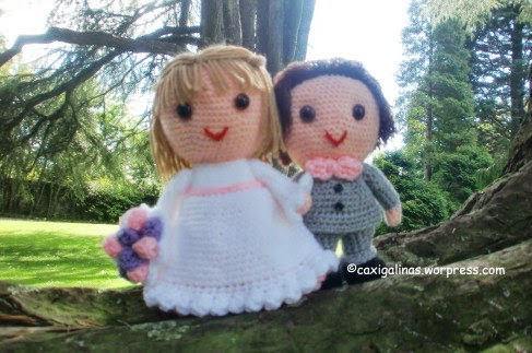 Bride Diane, Amigurumi Wedding Pattern | 323x487