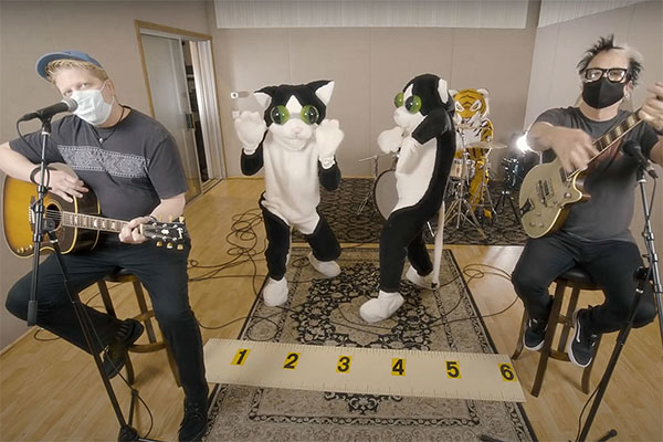 """The Offspring release cover for """"Here Kitty Kitty"""""""