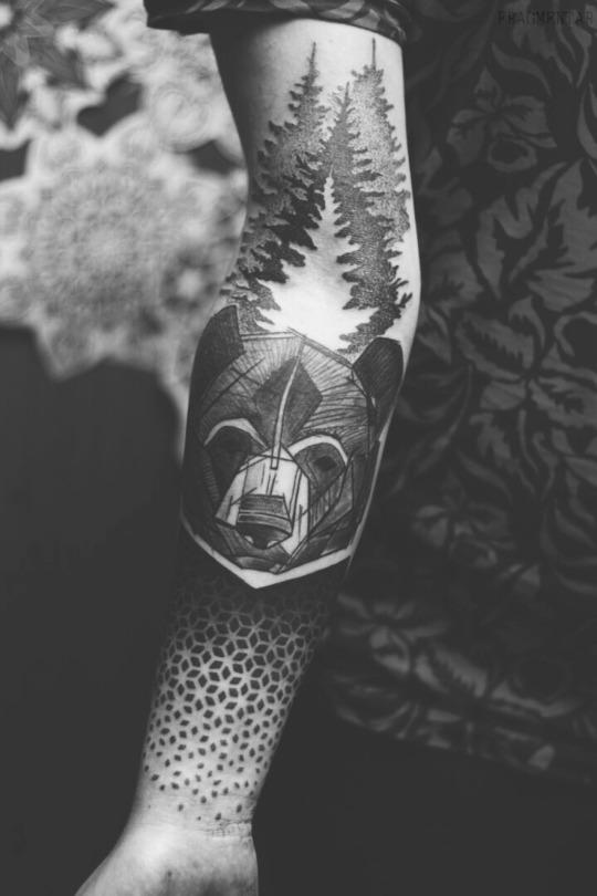 Awesome Bear Tattoo Ideas