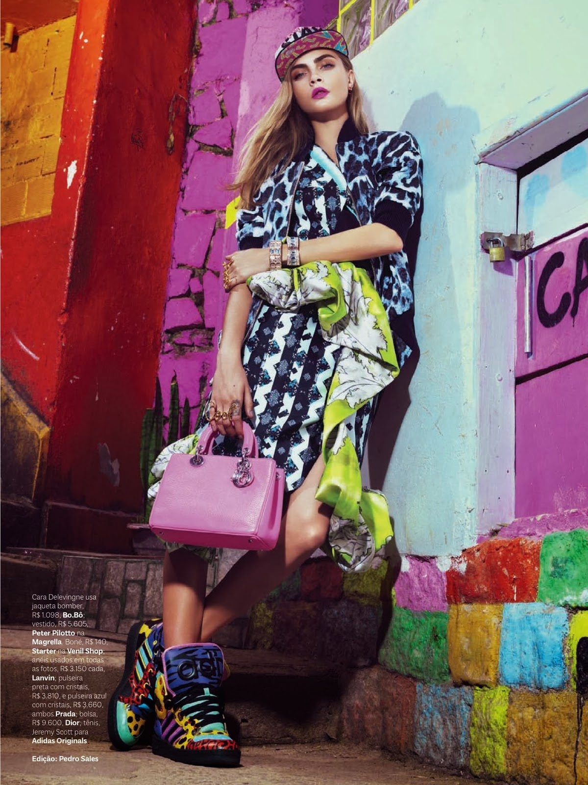 Hola Bola Babes: And baby Ill rule // Cara @ Vogue Brasil