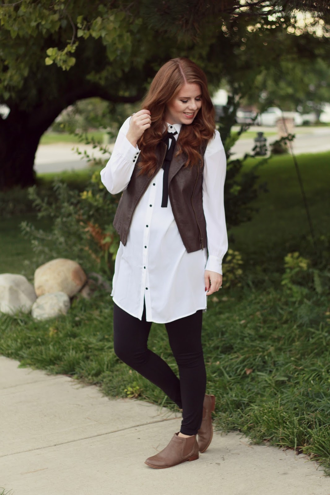 fall tunic outfit