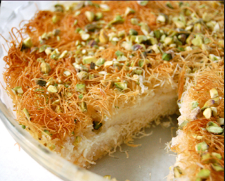 ramazan special kunafa sweet recipe in urdu