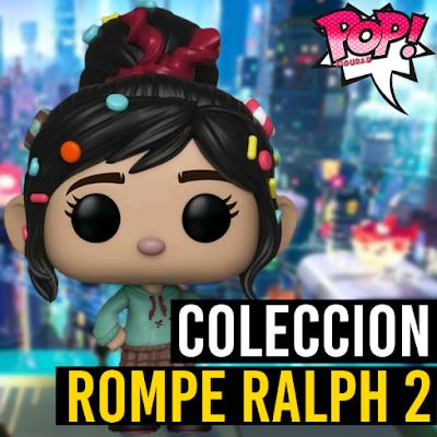 Lista de figuras funko pop de Funko Rompe Ralph 2
