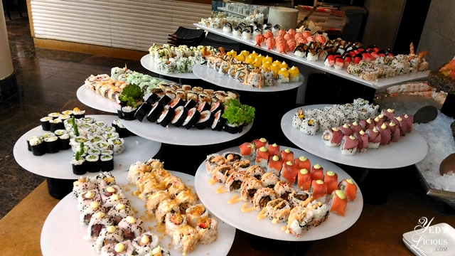 Sushi Buffet at Spectrum Fairmont Hotel Makati Manila PH