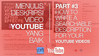 Menulis Deskripsi Video YouTube yang Baik - Hog Pictures