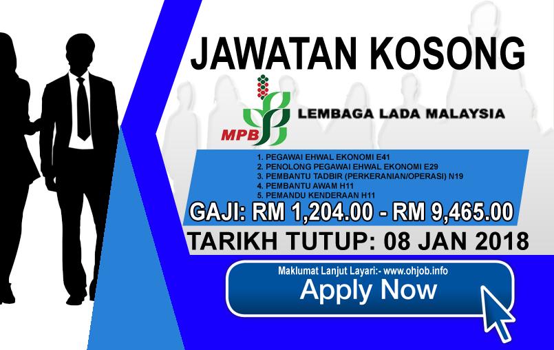 Jawatan Kerja Kosong Lembaga Lada Malaysia - MPB logo www.ohjob.info januari 2017