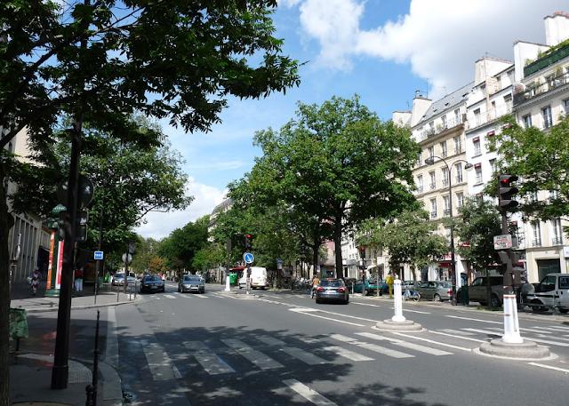 Paris boulevard temple - (Jalan boulevard di paris)