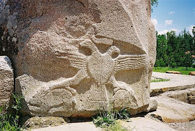 Хеттский орел в Хаттуса 13 век. д.н.эры