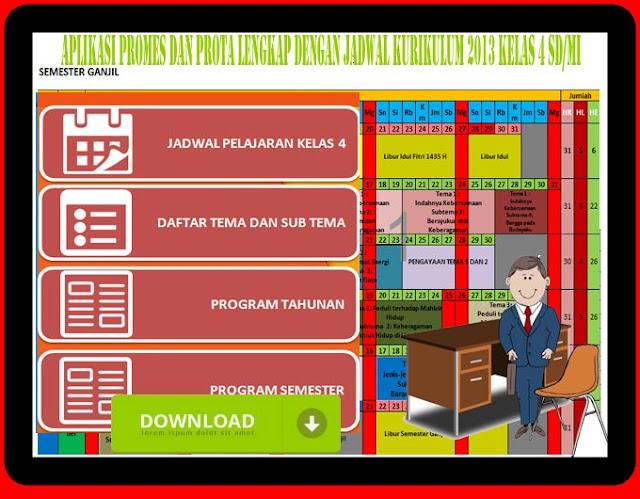 Download Aplikasi Pembuat Prota Promes Otomatis Semua Jenjang