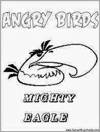 Free Angry Birds Coloring Pages 7