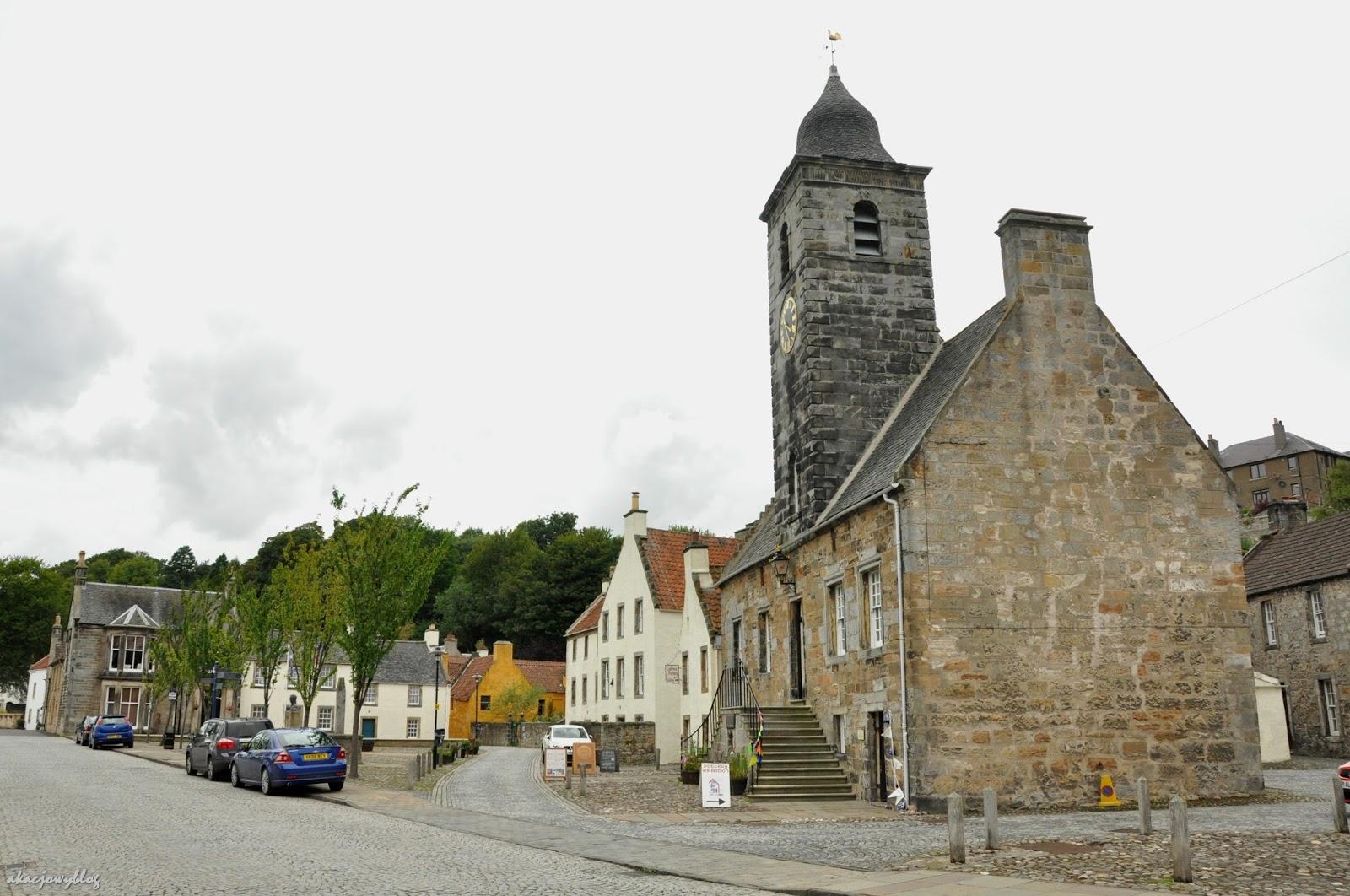 Szkockie miasteczko Curloss.