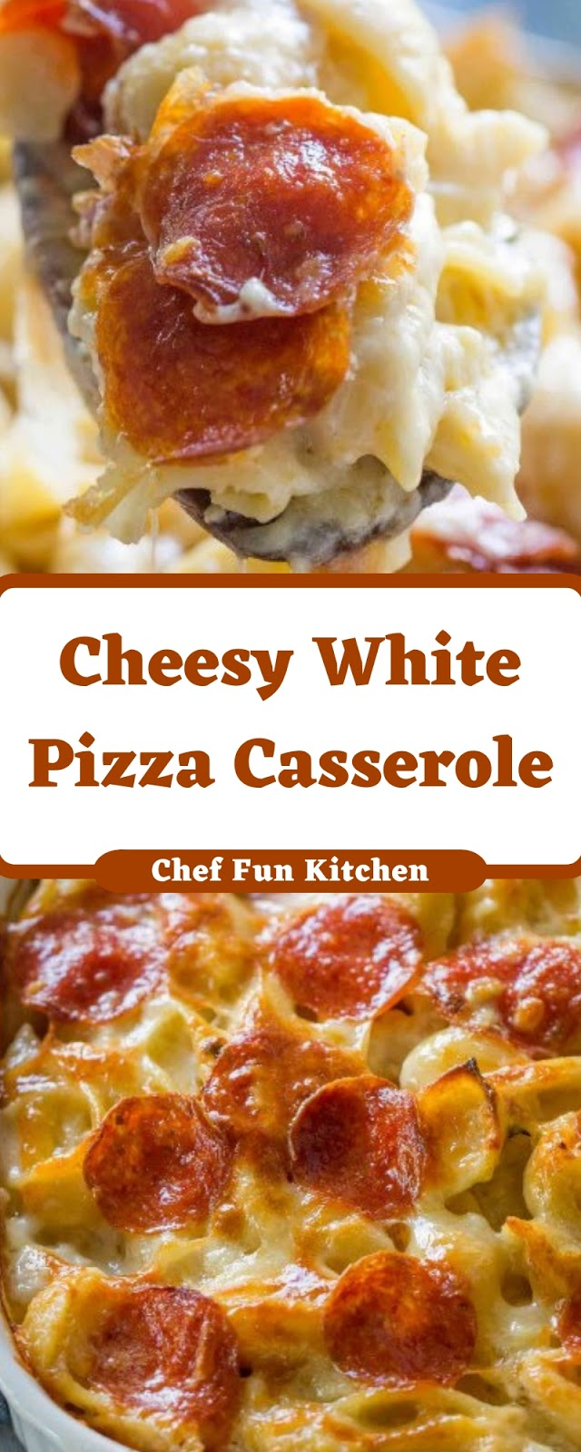 Cheesy White Pizza Casserole