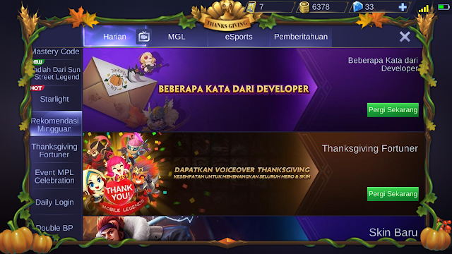 Tutorial Mendapatkan Border Musim Semi Mobile Legends 8