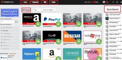 PrizeRebel GPT(get paid to) site क्या है? हिंदी में