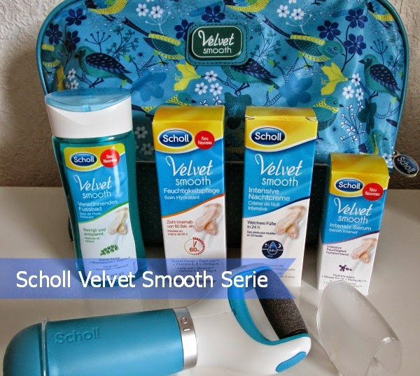Scholl Velvet Smooth Serie - Review / Express Pedi / Fusspflege