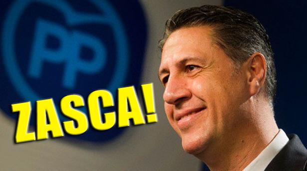 Tremendo ZASCA! a Xavier García Albiol (PP) por su crítica a Manuela Carmena