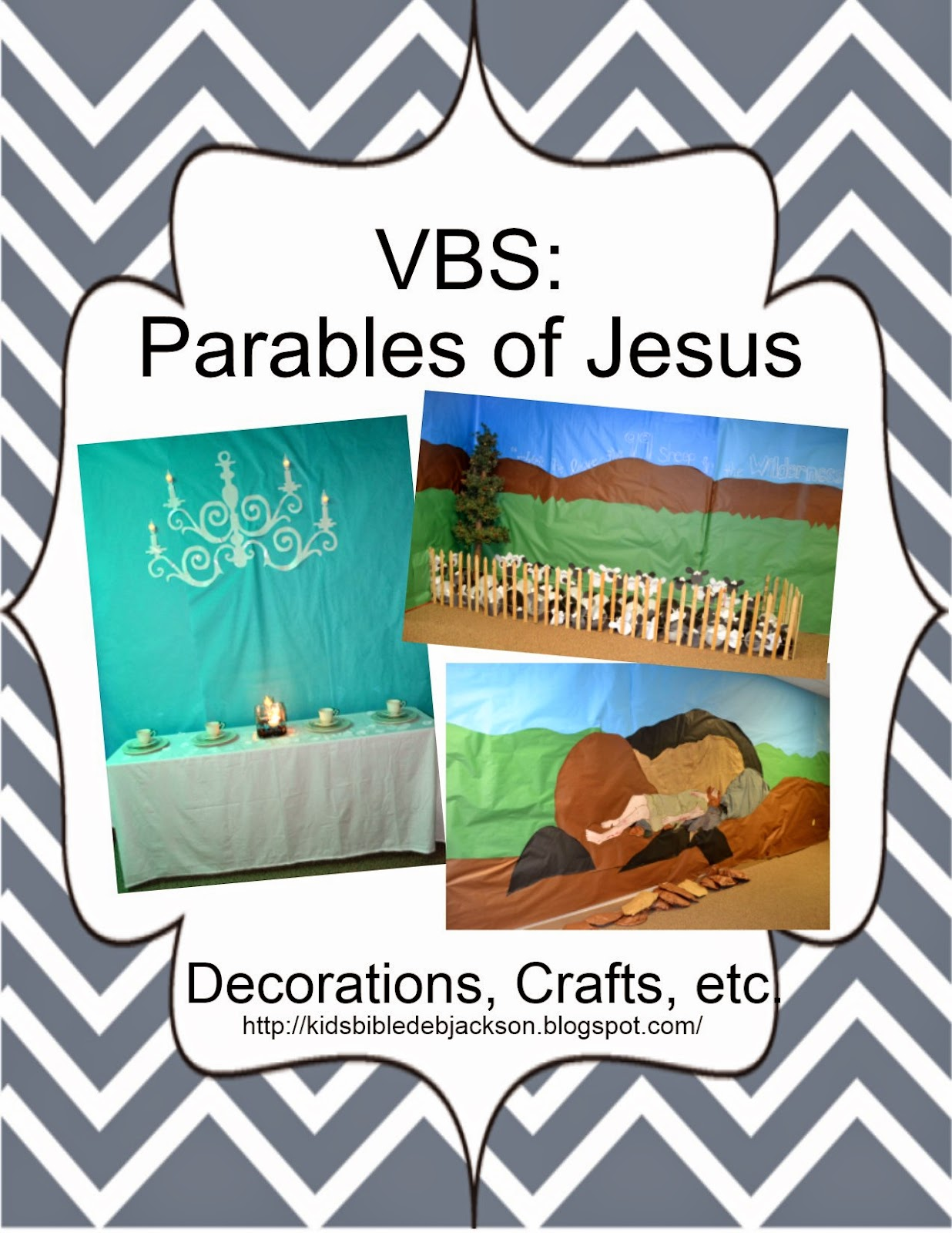 http://kidsbibledebjackson.blogspot.com/2014/06/parables-of-jesus-vbs.html