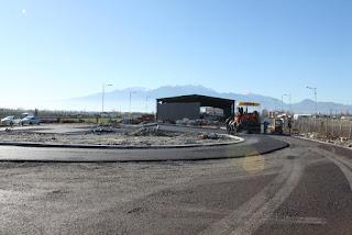 Στην τελική ευθεία οι εργασίες για την κατασκευή του ΣΜΑ (Σταθμός Μεταφόρτωσης Απορριμμάτων), στο αμαξοστάσιο του Δήμου Κατερίνης