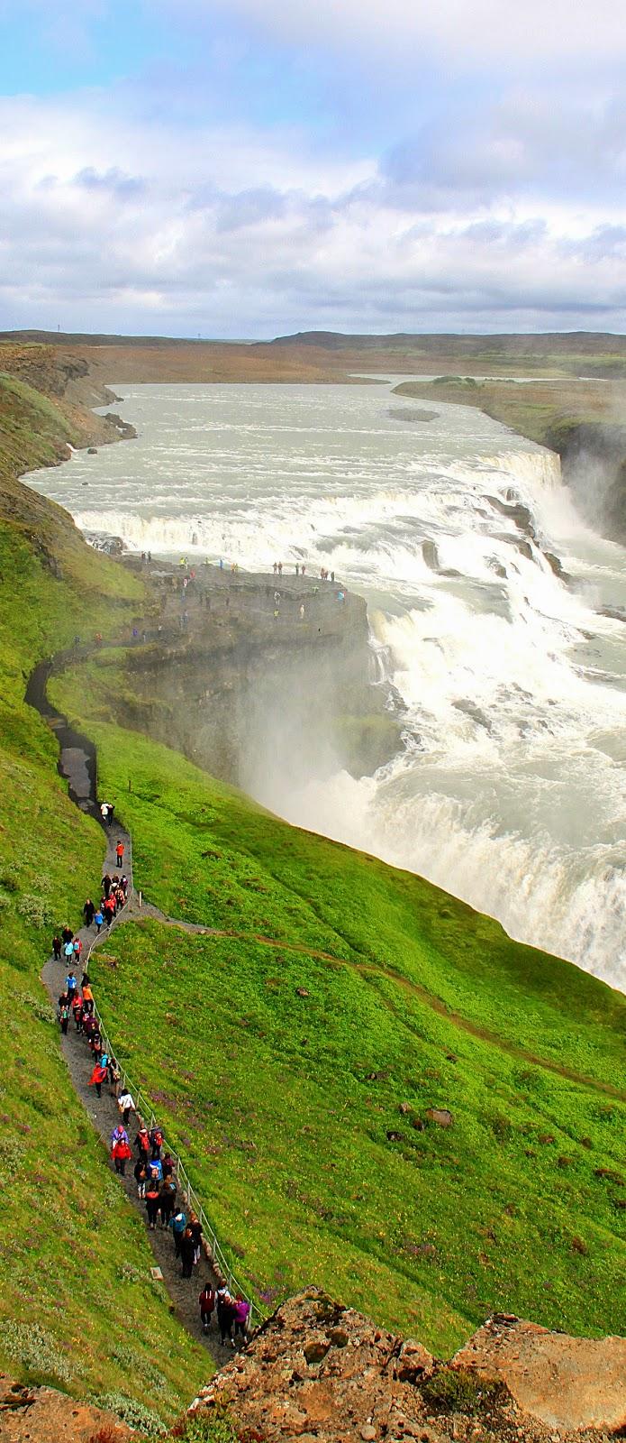 10 Best Adventure Holiday Destinations | Gullfoss waterfall, Iceland