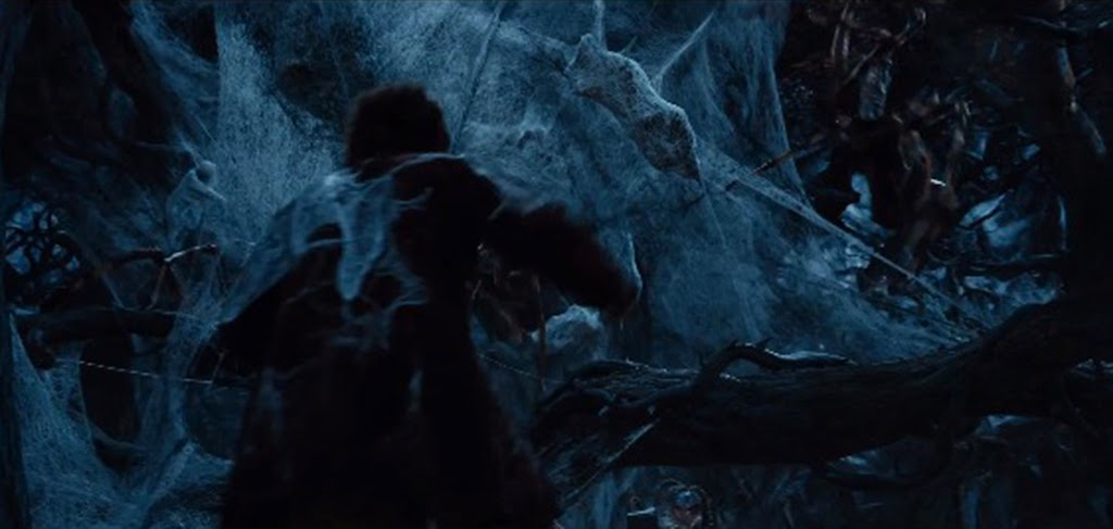 Spiders of Mirkwood The Hobbitt an Unexpected Journey 2013 movieloversreviews.filminspector.com