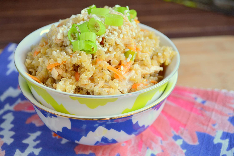 Sesame Quinoa And En Salad