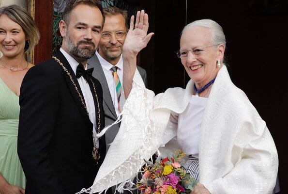Queen Margrethe II of Denmark attended the opening gala of Aarhus Festival
