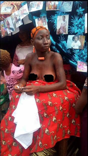 Ladies Go Half Unclad To Celebrate Their Culture In Rivers State