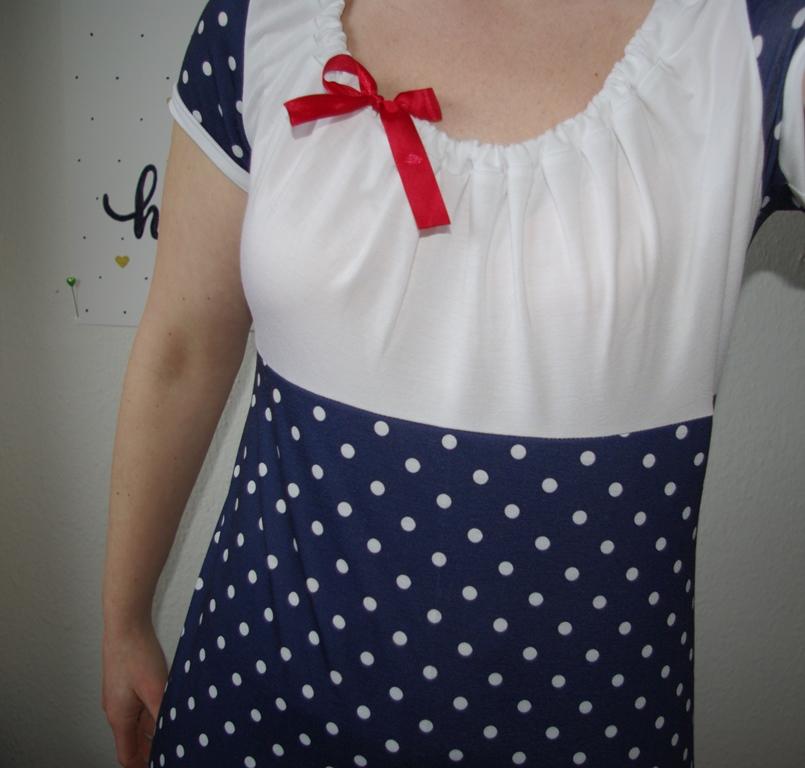 Details Kleid Ferrara von Schnittbox