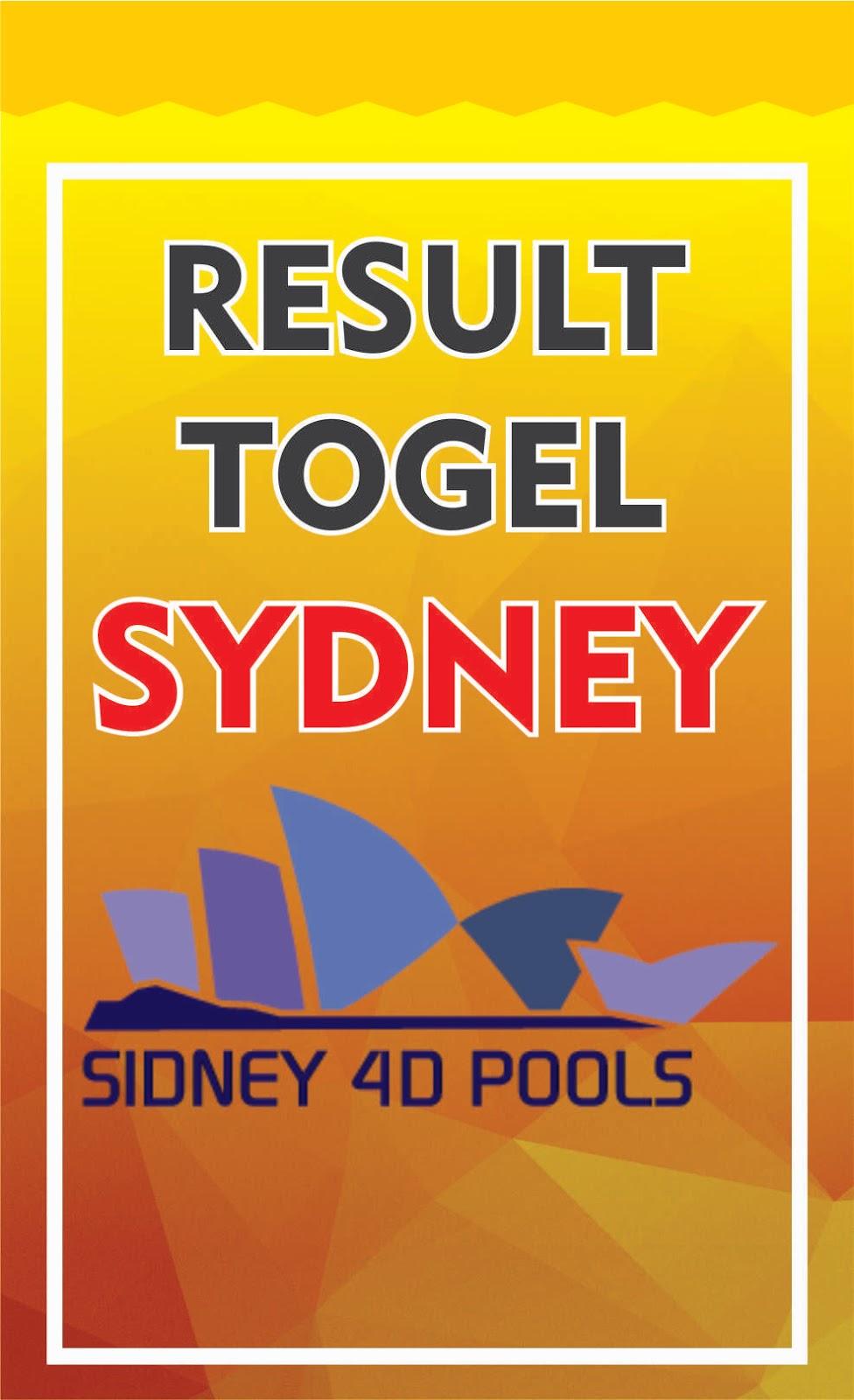 Result Togel Sydney Hari ini Tercepat