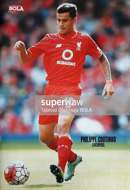 PHILIPPE COUTINHO LIVERPOOL 2015