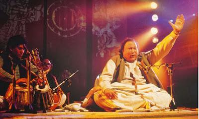 Nusrat Fateh Ali Khan records Musstt Musstt