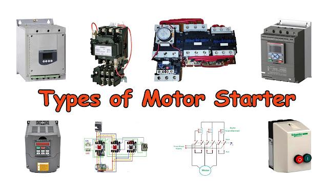 Types of Motor Starters - Motor Starter Types
