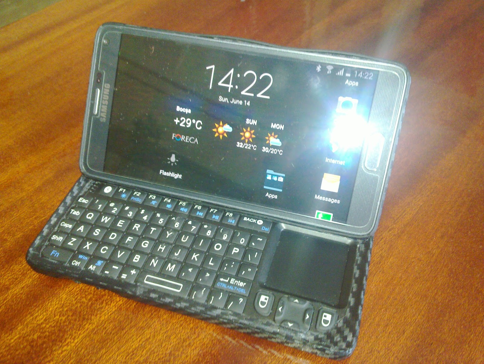 Physical Keyboard For Galaxy Note 4 Samsung Galaxy Note 4