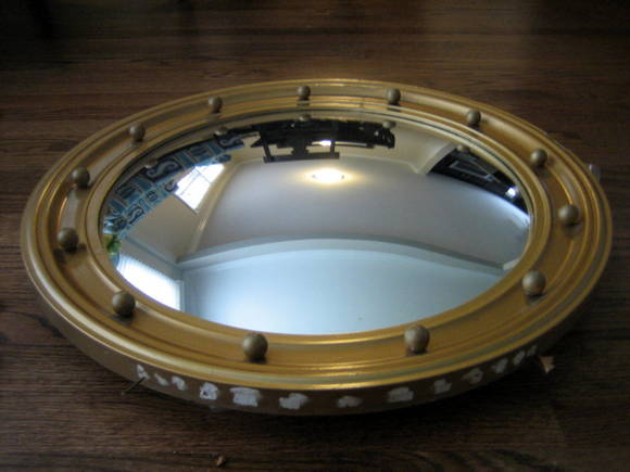 Patch holes: Port Hole Mirror   DIY Playbook