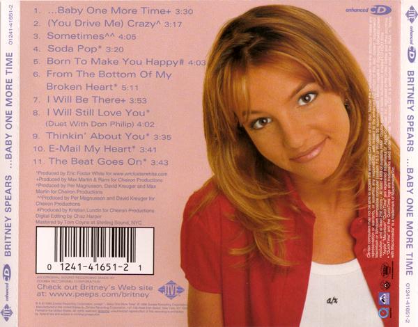 Britney Spears Baby One More Time Music Cd: POP 'TIL YOU PUKE!: Britney Spears