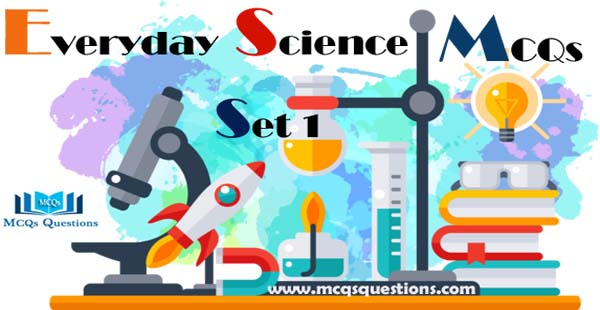 Everyday Science MCQs with Answers Set 1