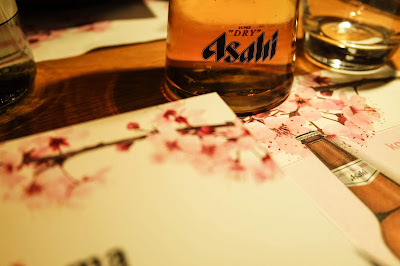 Karakuchi Pairing Menu with Wagamama & Asahi Beer on Typewriter Teeth Beer