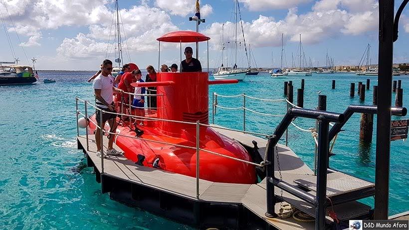 Passeio de Semi-Submarino - o que fazer em Bonaire