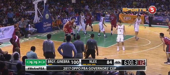 Ginebra def. NLEX, 110-97 (REPLAY VIDEO) August 5