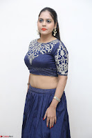Ruchi Pandey in Blue Embrodiery Choli ghagra at Idem Deyyam music launch ~ Celebrities Exclusive Galleries 002.JPG