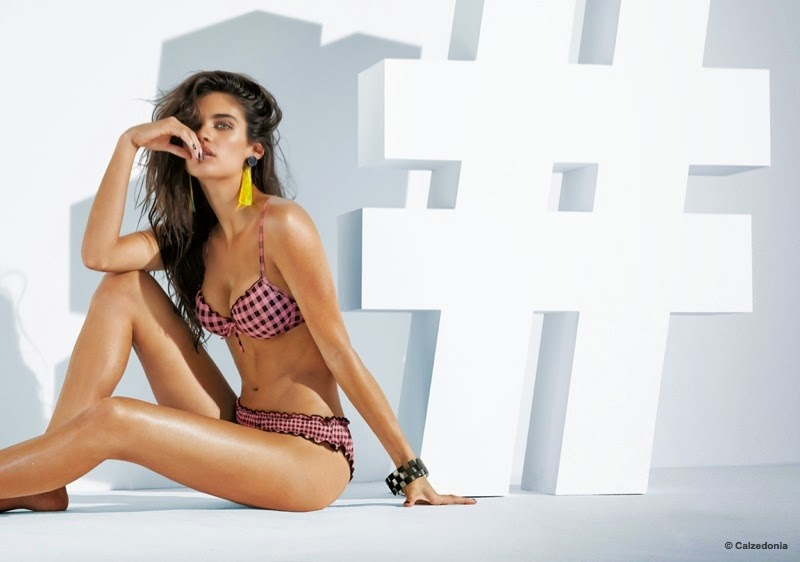 Calzedonia-Bikinis-Summer-2015-Sara-Sampaio