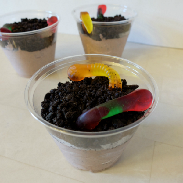 make dirt pudding