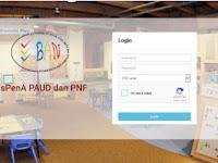 sispena.banpaudpnf.or.id Alamat Website SISPENA PAUD