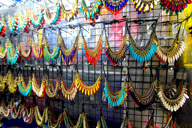 Street Necklaces Markets  Khao San Road Bangkok Thailand Travel Blogger Review What to See Photography