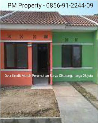 over kredit Rumah Subsidi Murah cicilan 900 rbuan